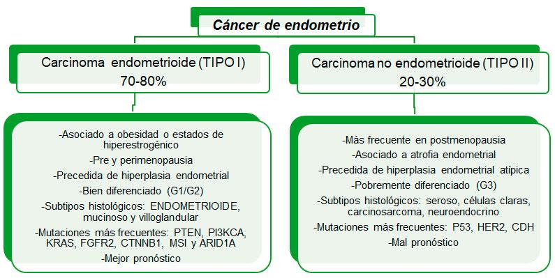 cancer endometrial de peor pronostico